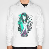 day of the dead Hoodies featuring Day of the dead by Tshirt-Factory