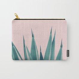Blush Agave Dream #1 #tropical #decor #art #society6 Carry-All Pouch