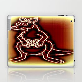 The Flying Kangaroo & It's Joey Laptop & iPad Skin