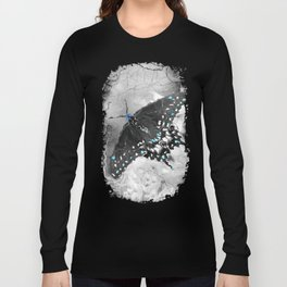 A Butterfly Flaps Its Wings Long Sleeve T-shirt