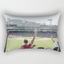 Red Sox Win in Color Rectangular Pillow