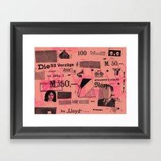 LSCHPPR Framed Art Print