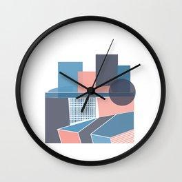 Museum Walls Wall Clock