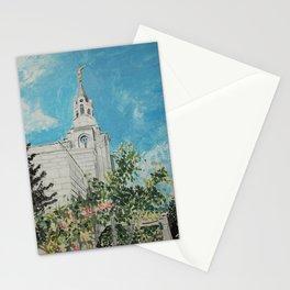 Boston Massachusetts LDS Temple Stationery Cards