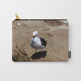 Me and My Shadow ~ Seagull at La Jolla, California Carry-All Pouch
