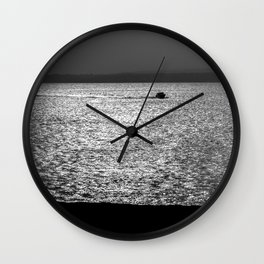 Portsmouth Harbour. Wall Clock