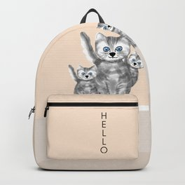 Hello Cat lover  Backpack