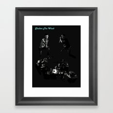 Shelter The Weak Band Framed Art Print