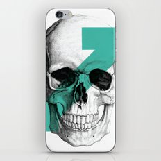 skull7 iPhone & iPod Skin