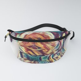 German Shorthaired Pointer Colorful Neon Dog Sunglasses Fanny Pack