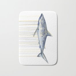 Tiger Shark Bath Mat