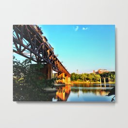 Susquehanna Reflections Metal Print
