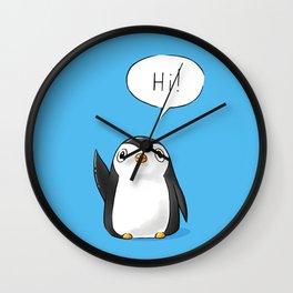 Hi Penguin Wall Clock