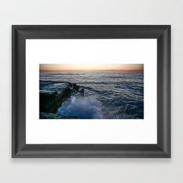 California Splash Framed Art Print