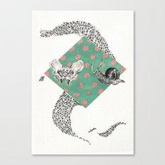 Snail and Pelvics  Canvas Print