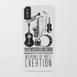 Weapons Of Mass Creation - Music iPhone Case