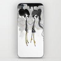gemini iPhone & iPod Skins featuring Gemini by Dnzsea