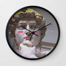 Drag Queen David, Pop-Art Wall Clock