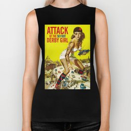 Attack of the 50 Foot Derby Girl Biker Tank