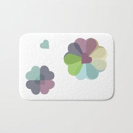 Heartflowers1 Bath Mat