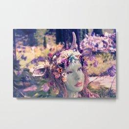Kore: The Unicorn Metal Print