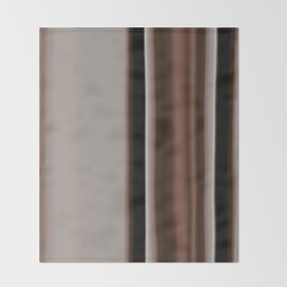 Ombre Brown Earth Tones Throw Blanket
