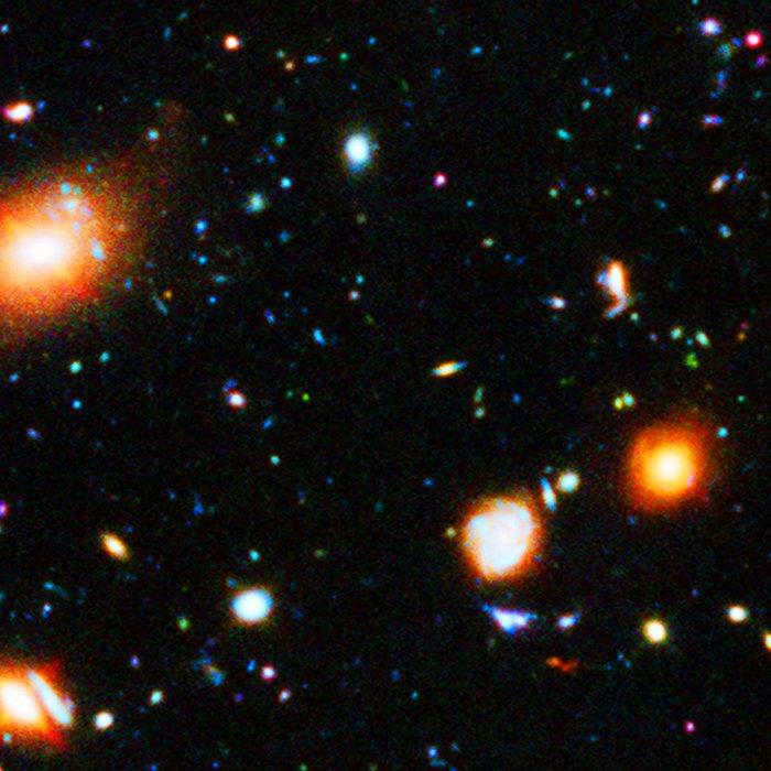 Hubble Extreme Deep Field Leggings