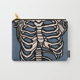 Rib Cage Carry-All Pouch