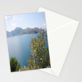 Oleander Againt The Aegean near Selimiye Stationery Cards