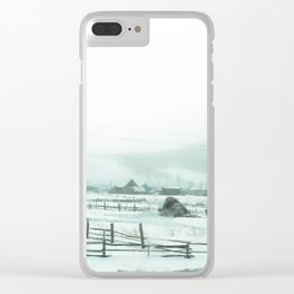 Winter 2 Clear iPhone Case