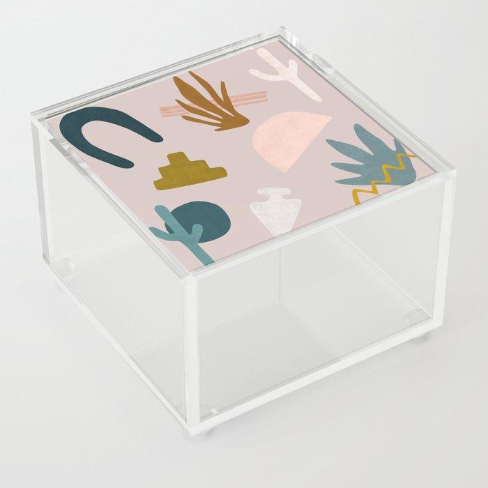 Desert Shapes Acrylic Box