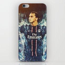 Zlatan Ibrahimović PSG iPhone Skin