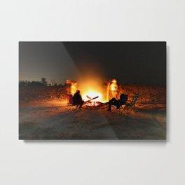 Campfire Metal Print