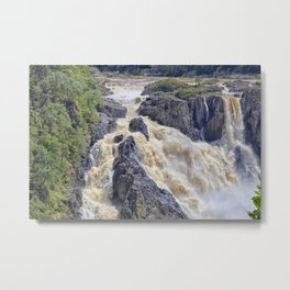 Powerful Barron Falls Metal Print