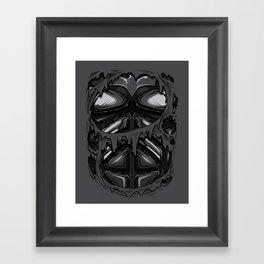 Knight Armor Framed Art Print