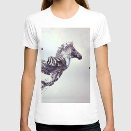 zebra surrealism inspirationa T-shirt