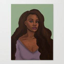 Leah African American Woman Canvas Print