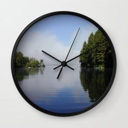 Kezar Lake Maine Wall Clock