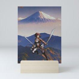 Sasha Blouse Attack on Titan Season 16 Mini Art Print