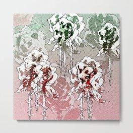 Roses bloom Metal Print