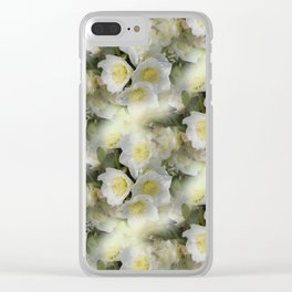 flowers -12- seamless pattern Clear iPhone Case