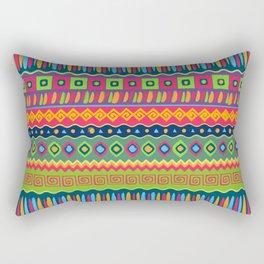 African abstract geometric pattern Rectangular Pillow