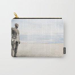 Crosby Beach Man  Carry-All Pouch