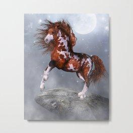 Native Horse Metal Print
