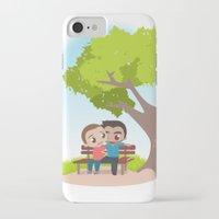 sterek iPhone & iPod Cases featuring Sterek Spring by Amarok