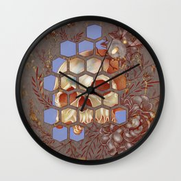 Mysterious Hive Wall Clock