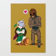 The Legend of Zelda :: Dancing Redead Canvas Print