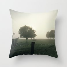 Misty Morning Throw Pillow