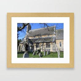 St. Giles Church, Holme. Framed Art Print