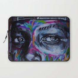 Graffiti Eyes Laptop Sleeve